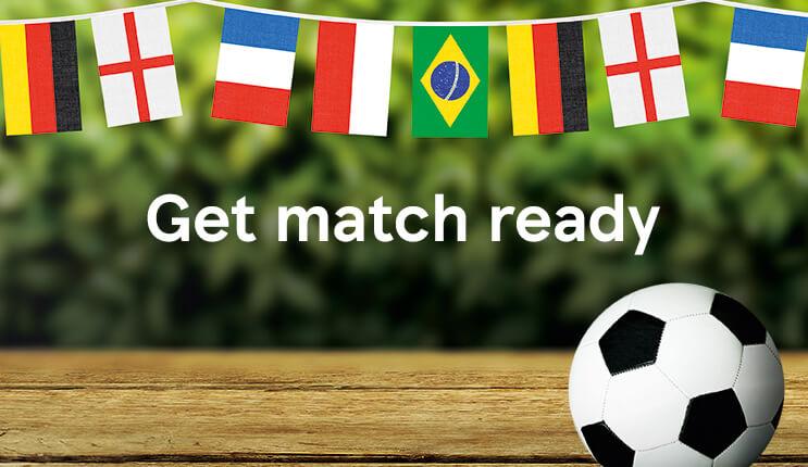Get match ready