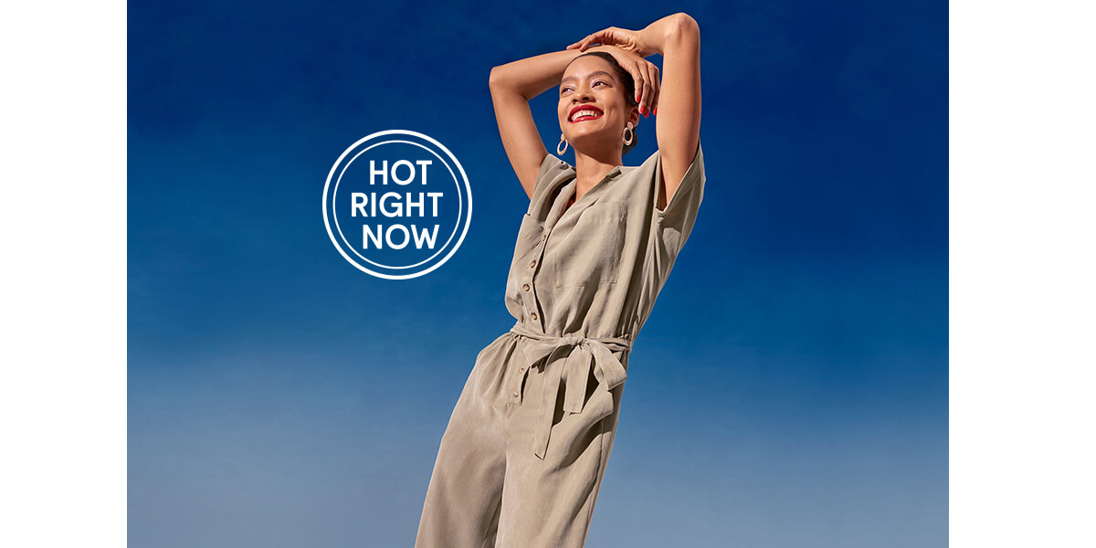 Women's khaki, short sleeve boiler suit £28