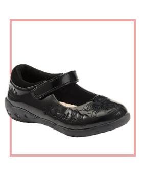 Unicorn patent shoes