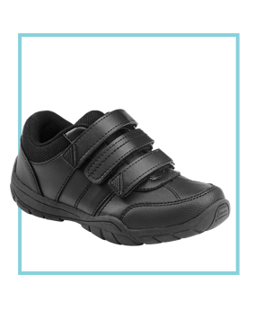 Triple strap shoes