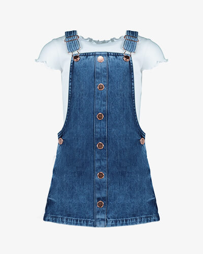 Denim pinny from £12