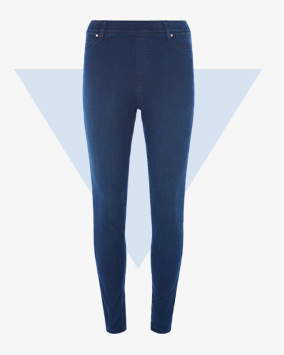 Indigo jeggings £12.50