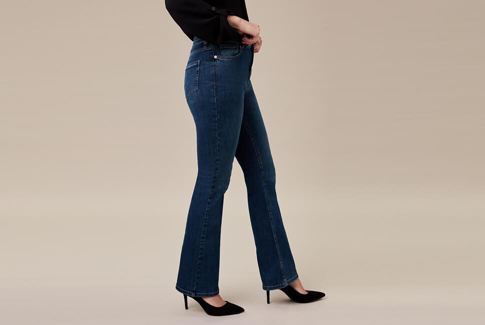 d580fd2c724 Contour jeans £22. The bootleg