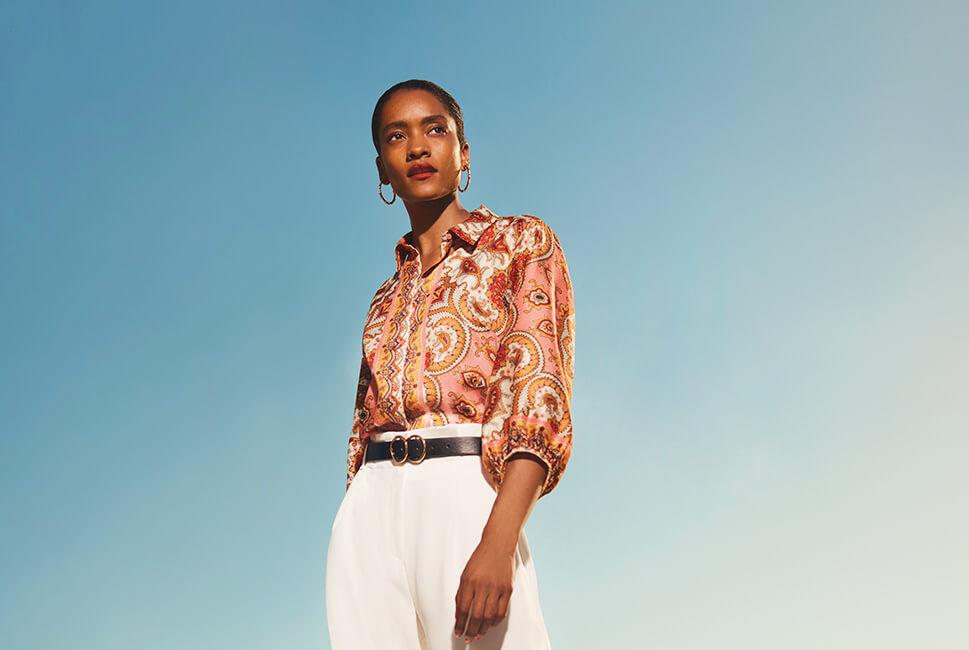 6fbb40f2451 The dream silky shirt