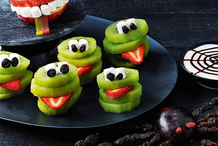 Make our healthier Halloween treats