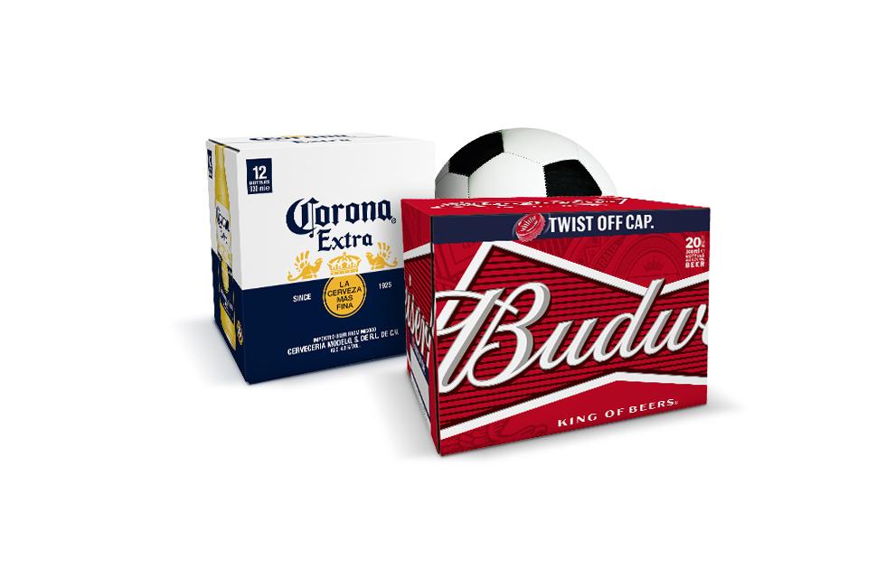 £10 Bud and Corona