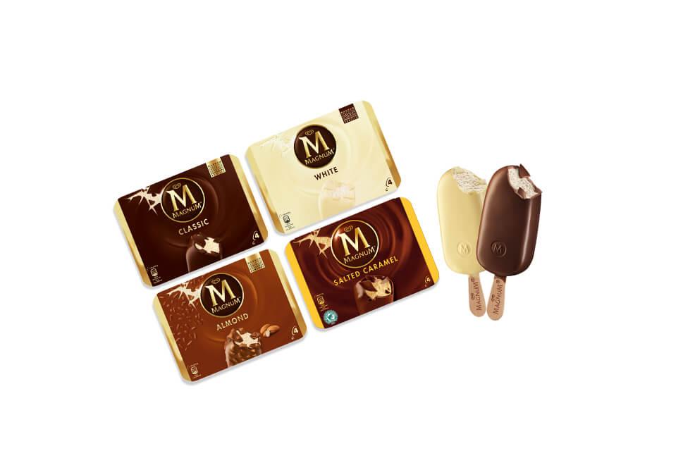 Half Price Magnum Ice Cream