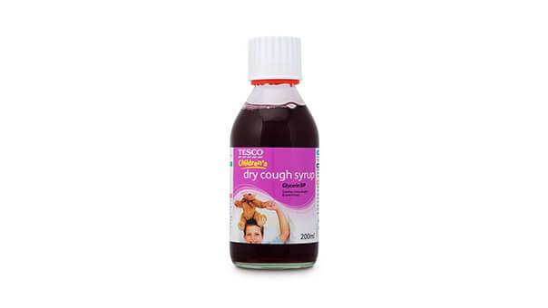 Tesco Children's Dry Cough Syrup 200ml
