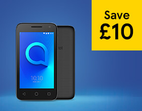 The Alcatel U3 – save £10
