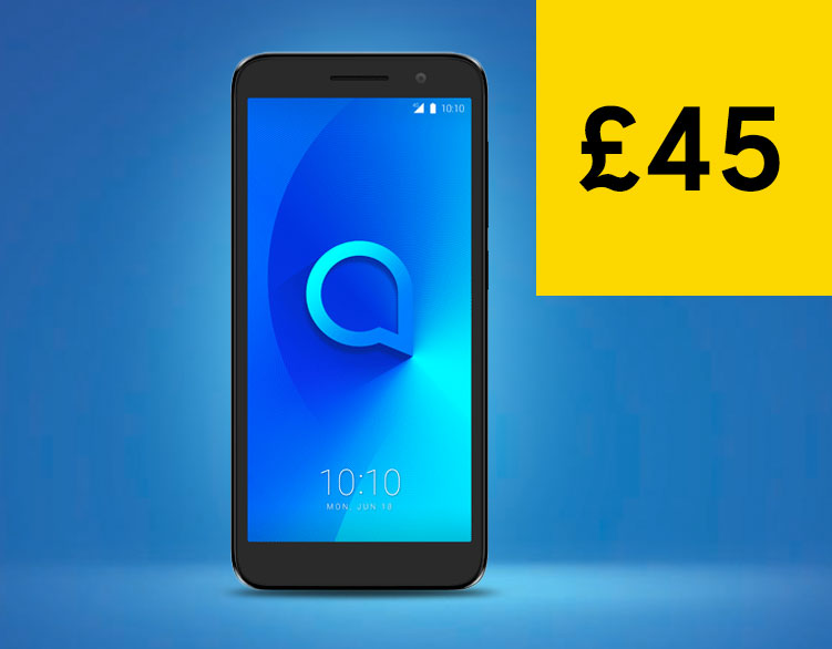 Alcatel 1 - now £45