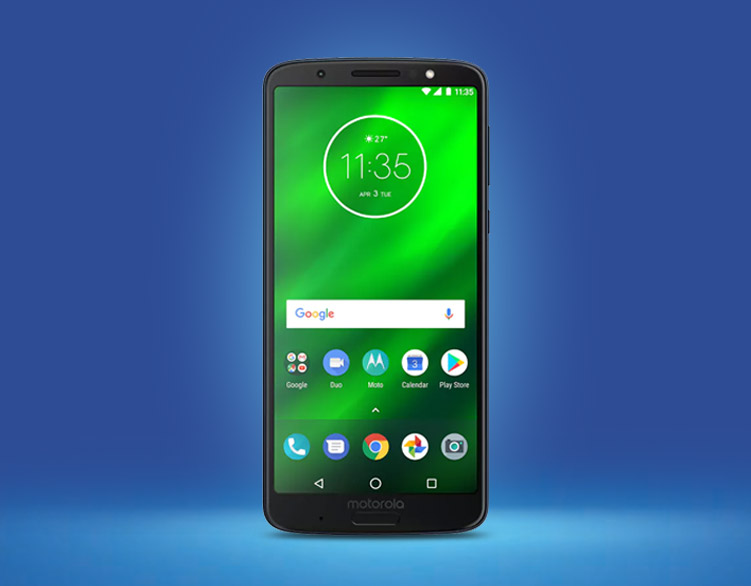 Check out the latest Moto G6 range