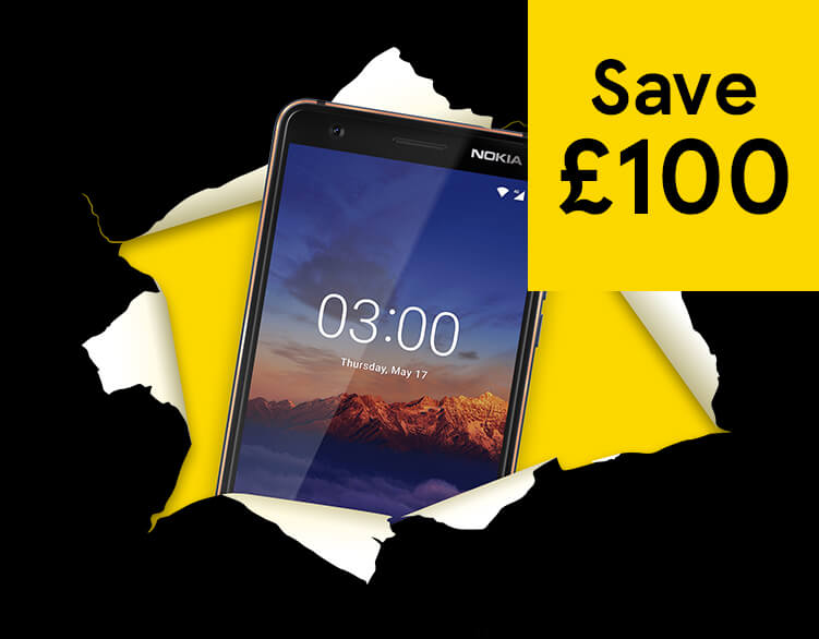 Nokia 3.1 – now just £75