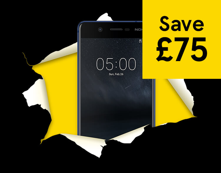 Nokia 5 – now only £90