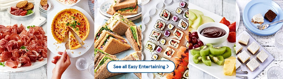 Buffet Food Easy Entertaining Tesco Groceries