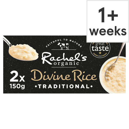Rachel's Organic Divine Rice Twin Traditional 2X150g
