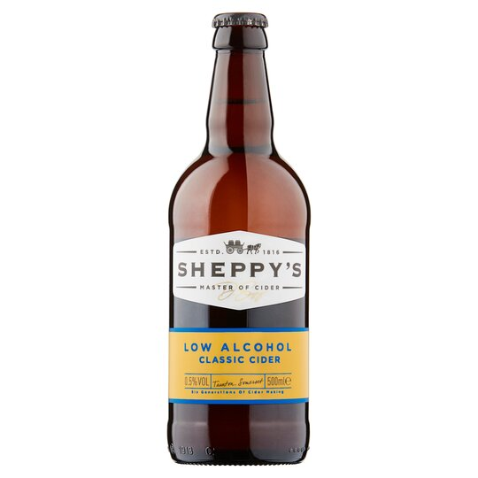 Sheppy's Low Alcohol Classic Cider 0.5% 500Ml
