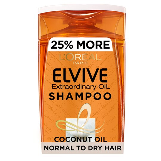 image 1 of L'oreal Elvive Extraordinary Coconut Oil Shampoo 500Ml