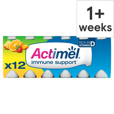 image 1 of Danone Actimel Multifruit Drink 12X100g