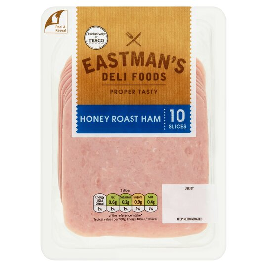 Eastman's Honey Roast Ham 10 Slices 125G