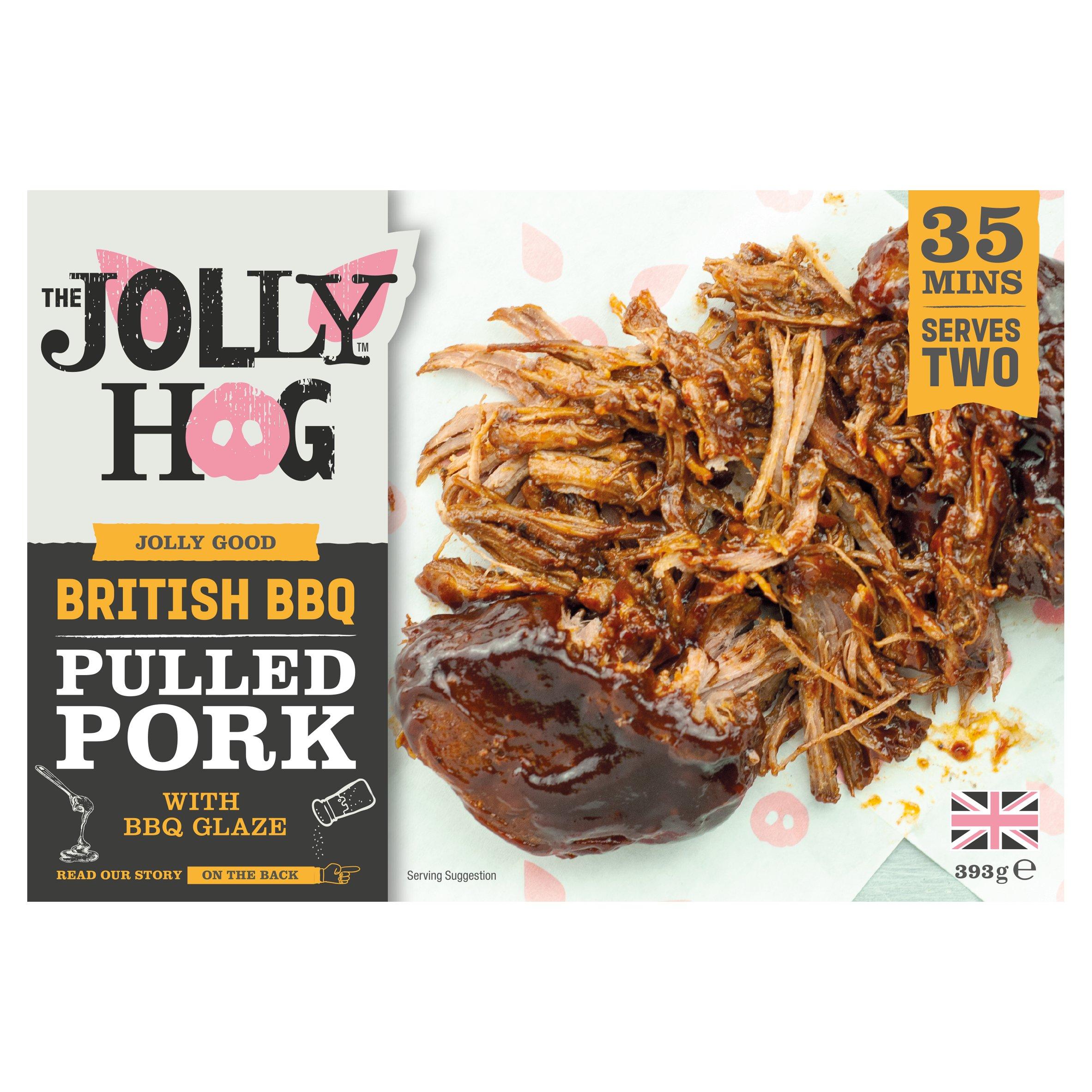 The Jolly Hog Bbq Pulled Pork 393G