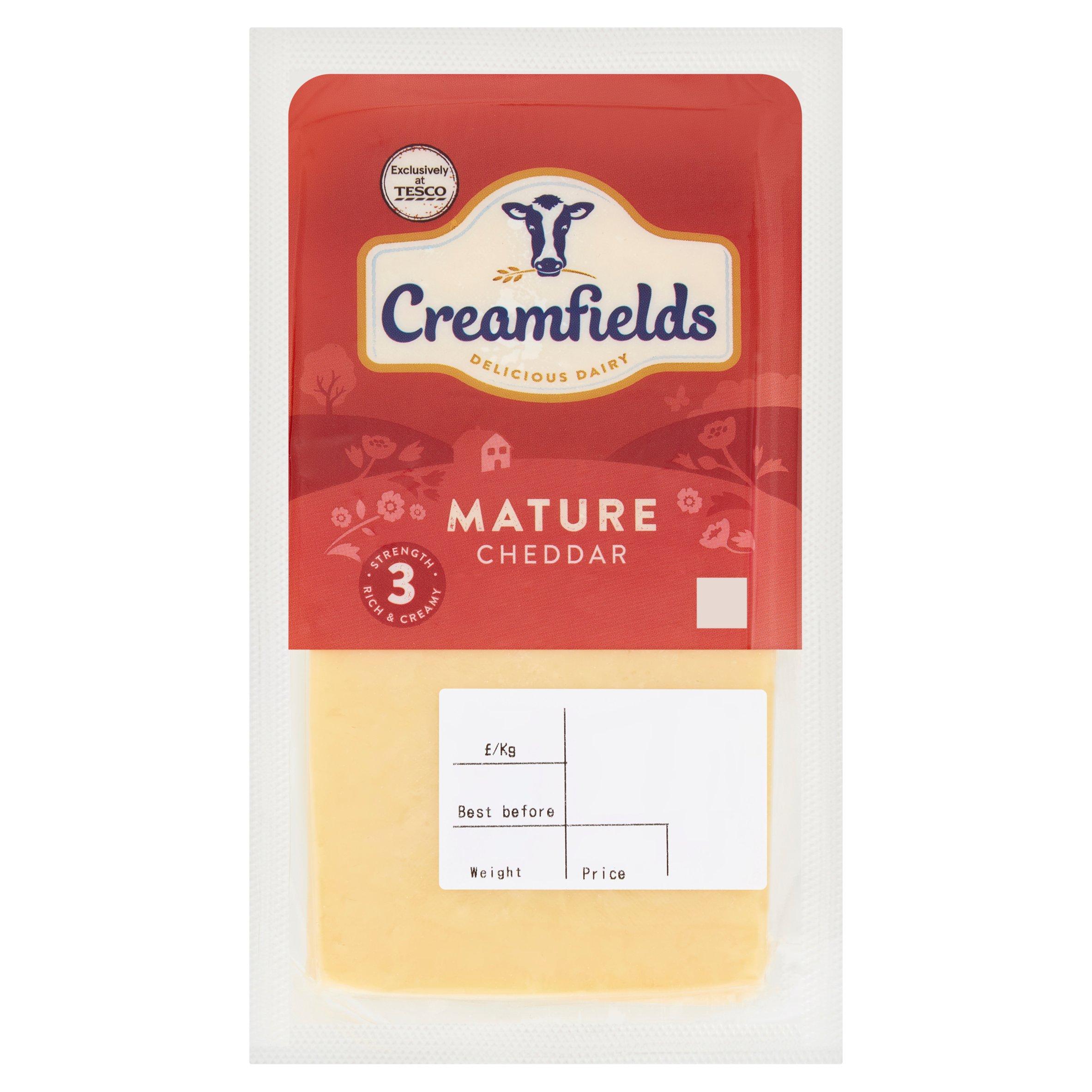 Creamfields Mature White Cheddar Large
