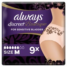 image 1 of Always Discreet Boutique Bladder Weakness Pants Medium 9