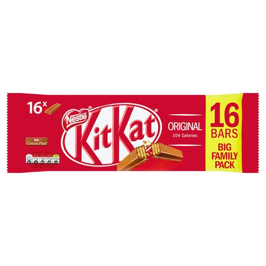 image 1 of Kit Kat 16Pk 2 Finger Milk 331.2G
