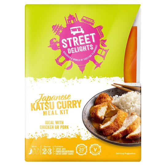 Street Delights Japanese Katsu Curry Kit 325g Tesco Groceries