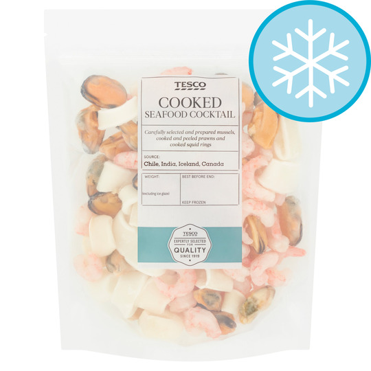 Tesco Cooked Seafood Cocktail 300G