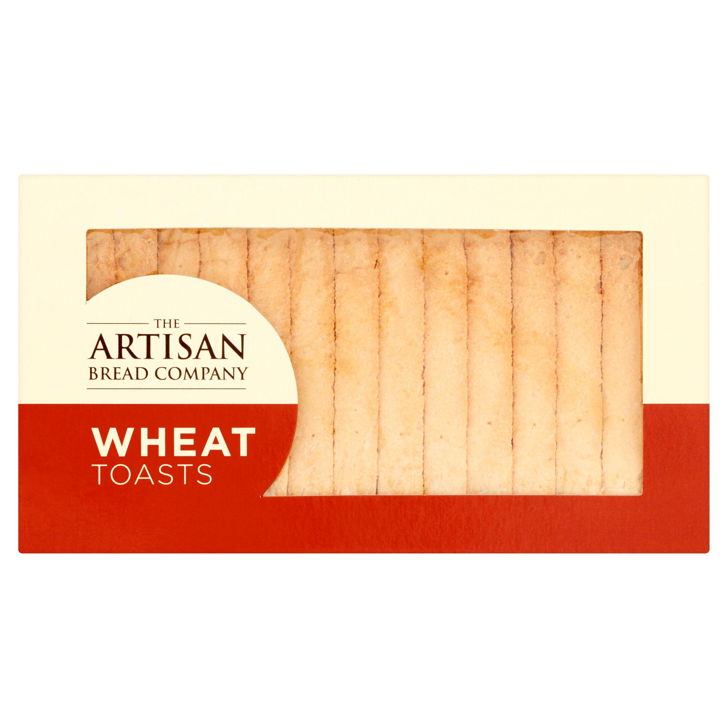 The Artisan Bread Company Wheat Toast 125G