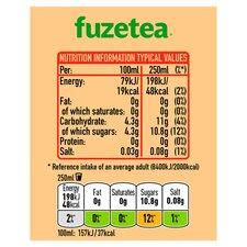 Fuze Tea Peach & Hibiscus Iced Tea