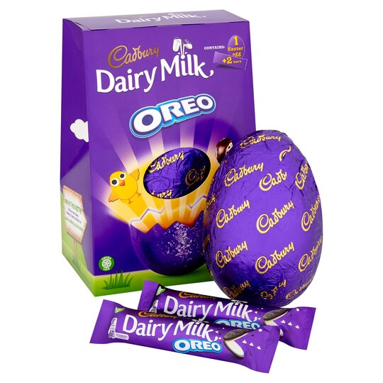 Cadbury Dairy Milk Oreo Large Easter Egg 278G