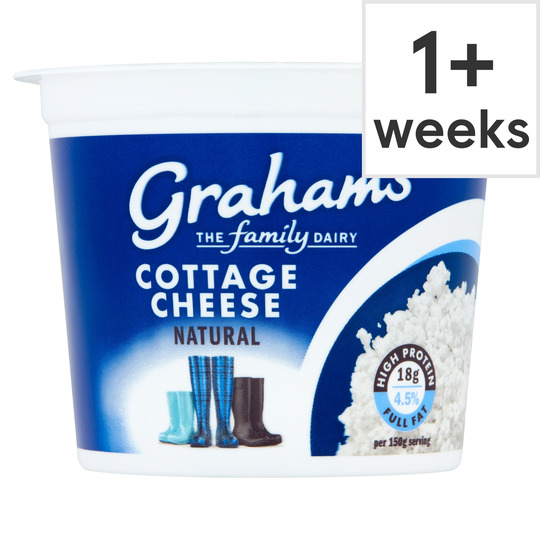 Graham's Natural Cottage Cheese Full Fat 300G