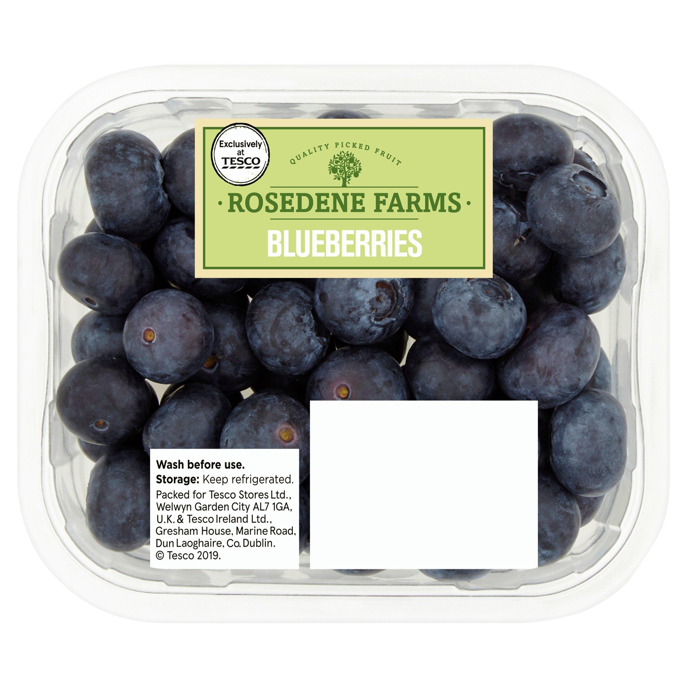 Rosedene Farms Blueberries 125G