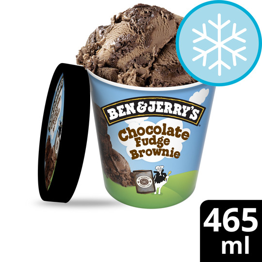 image 1 of Ben & Jerry's Chocolate Fudge Brownie Ice Cream 465Ml