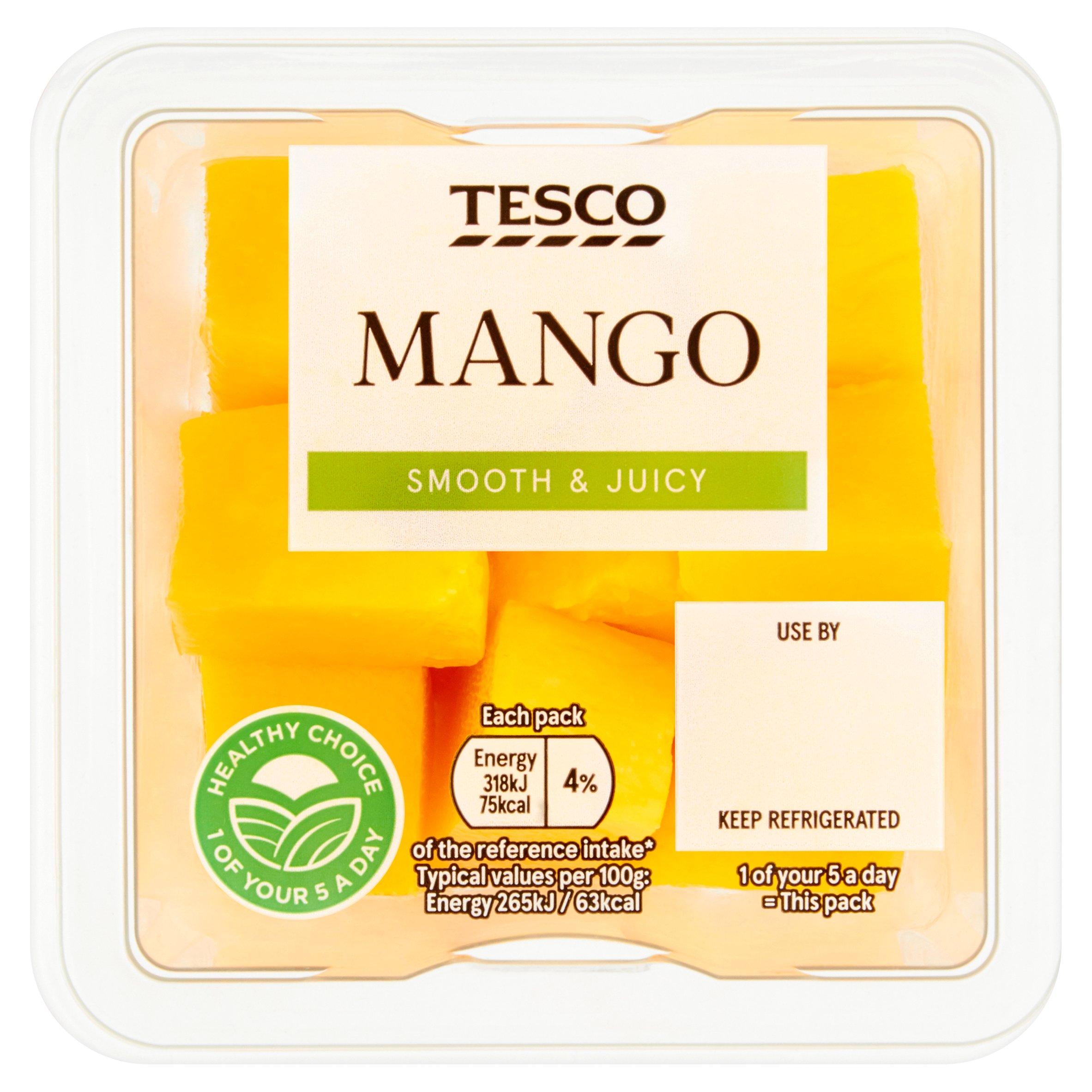 Tesco Mango Chunks 120G