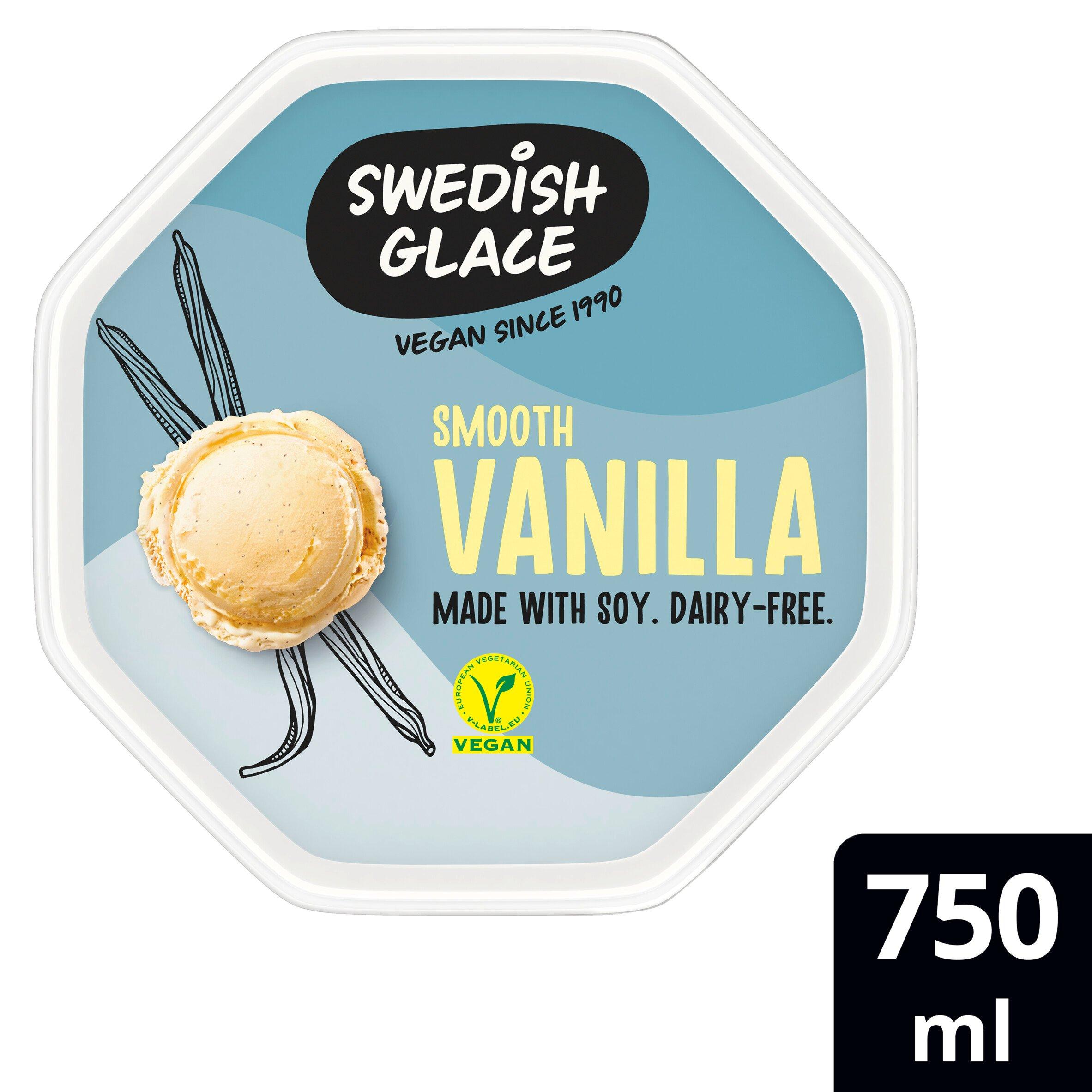 Swedish Glace Vanilla Non Dairy Frozen Dessert 750Ml