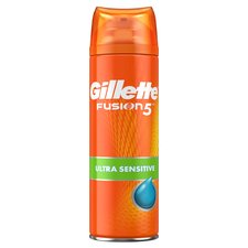 image 1 of Gillette Fusion 5 Ultra Sensitive Shaving Gel 200Ml