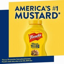 image 3 of French's America Classic Yellow Mustard 226G Squeezy