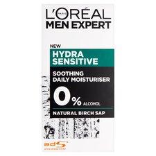 image 1 of Loreal Men 50Ml Hydrating Sensitive Hydrating Cream