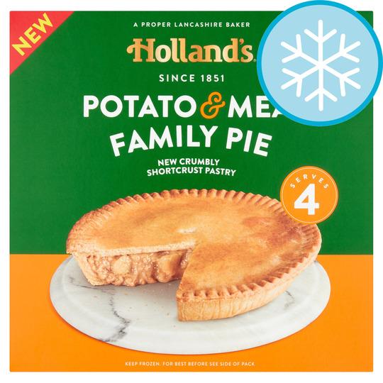 Hollands Potato & Meat Family Pie