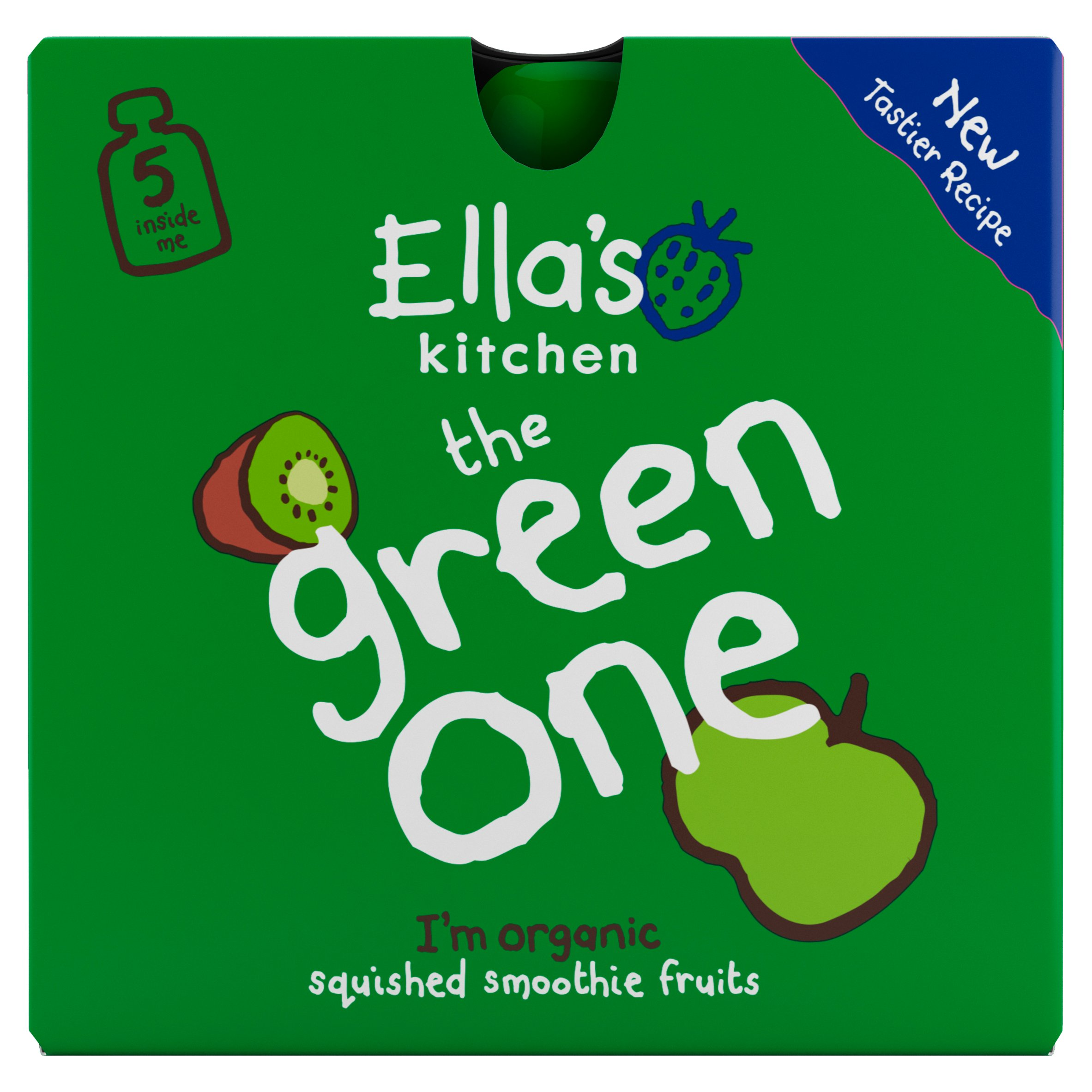 Ella's Kitchen The Green One Multipack 450G