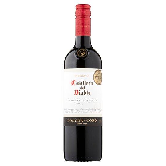 image 1 of Casillero Del Diablo Cabernet Sauvignon 75Cl