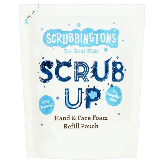 Scrubbington's Hand & Face Foam Refill Pouch 200Ml