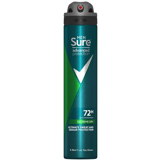 image 1 of Sure For Men Extreme Dry Antiperspirant Deodorant 200Ml