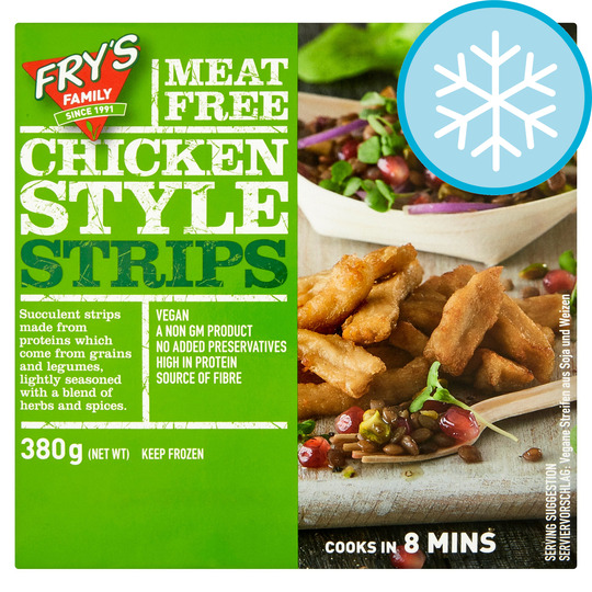 Fry's Meat Free Chicken Style Strips 380G