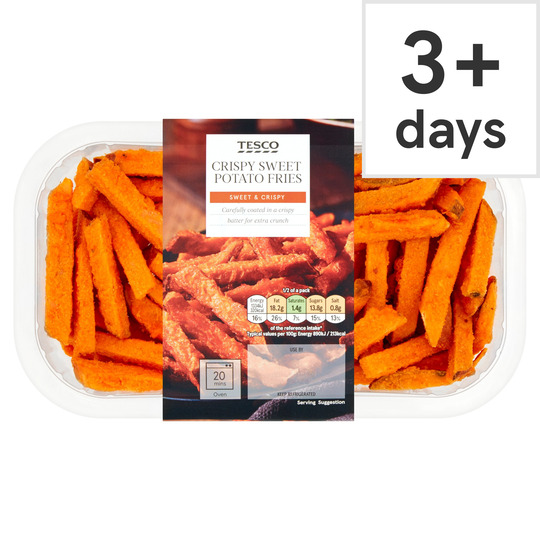 Tesco Crispy Sweet Potato Fries 300g