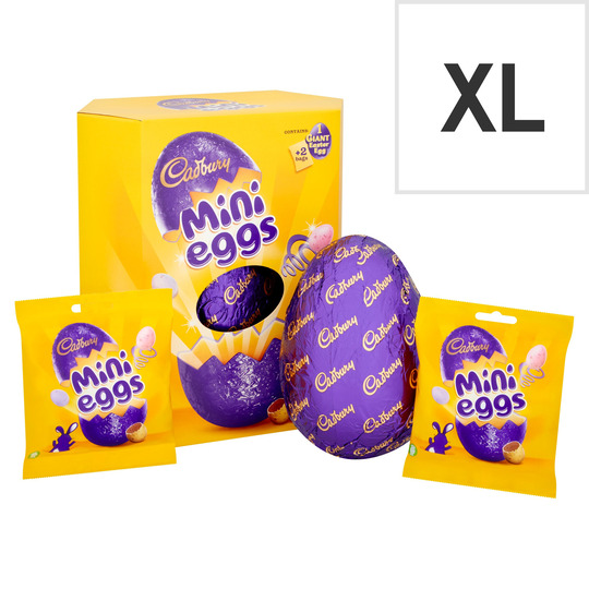 Cadbury Mini Eggs Chocolate Egg 455G