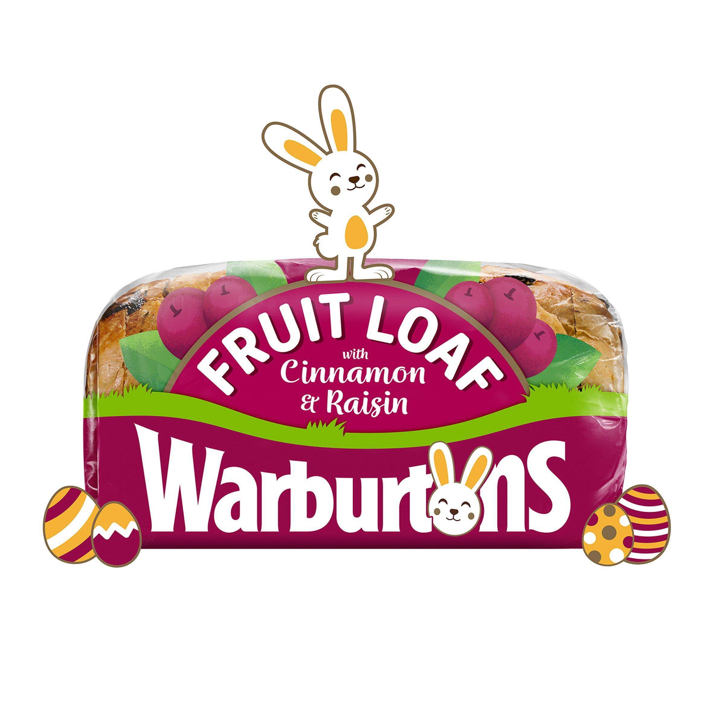 Warburtons Fruit Loaf With Cinnamon & Raisin 400G