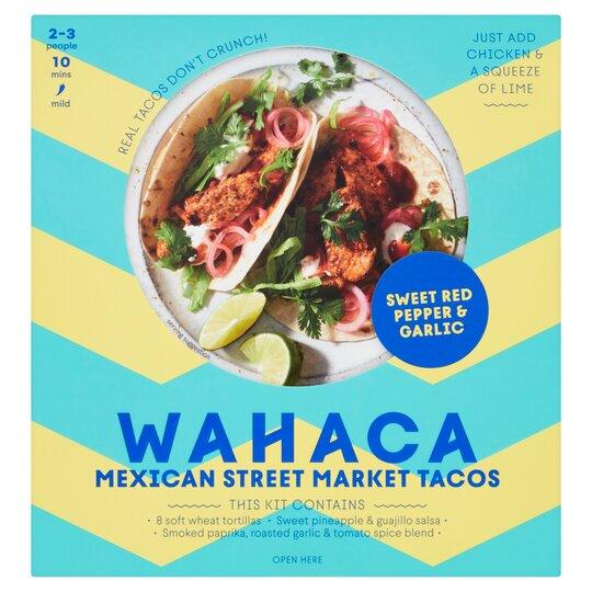 Wahaca Fruity & Mellow Soft Taco Kit
